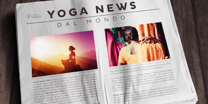 Yoga News dal Mondo – settembre 2014