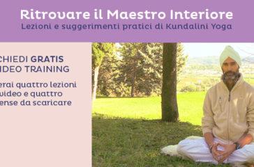 Iscriviti al video training gratuito di Kundalini Yoga