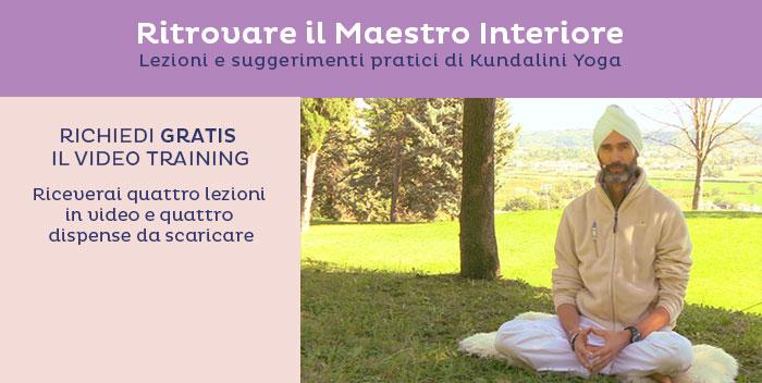 Ritrovare il Maestro Interiore: un video training di Kundalini Yoga
