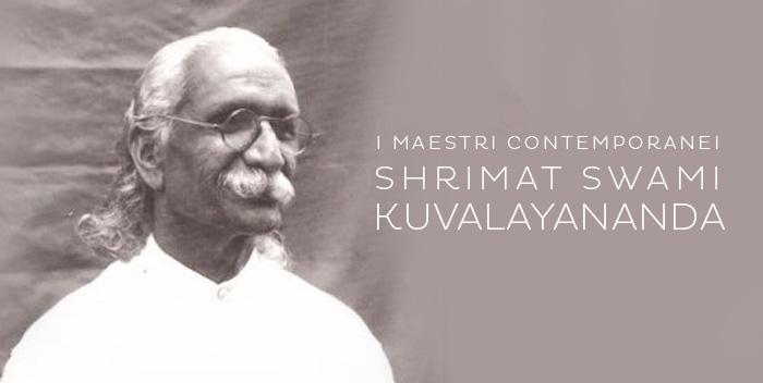 Shrimat Swami Kuvalayananda – I maestri contemporanei