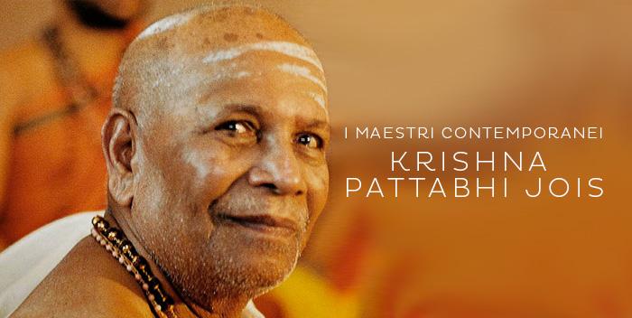 Krishna Pattabhi Jois – I maestri contemporanei
