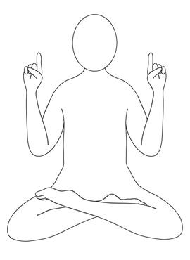 posizione per la meditazione