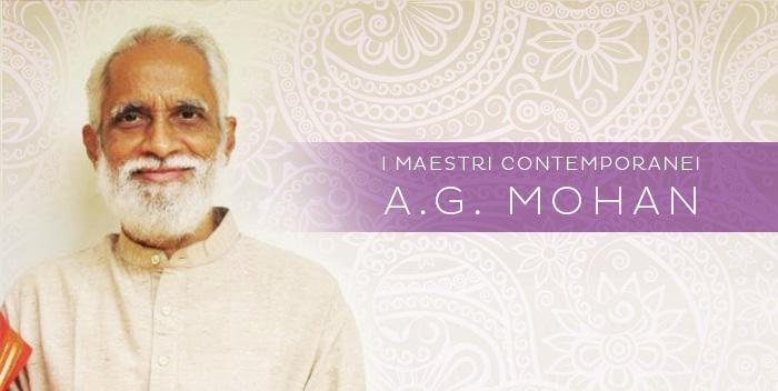 A.G. Mohan – I Maestri Contemporanei