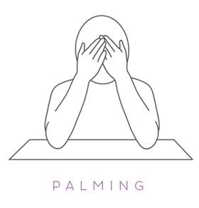 Yoga per gli occhi: il palming