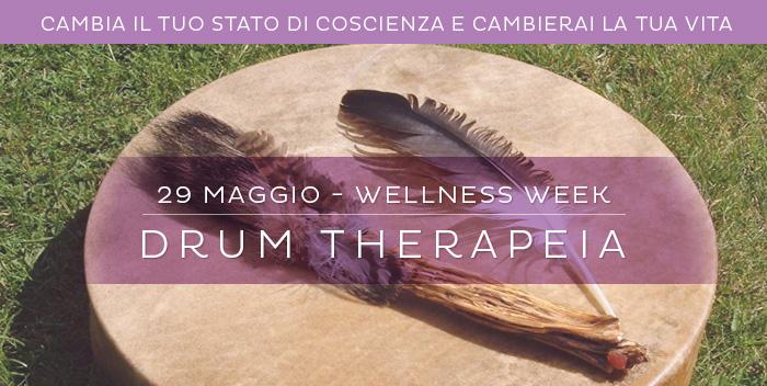 29 maggio: scopri la Drum Therapeia, alla Wellness Week