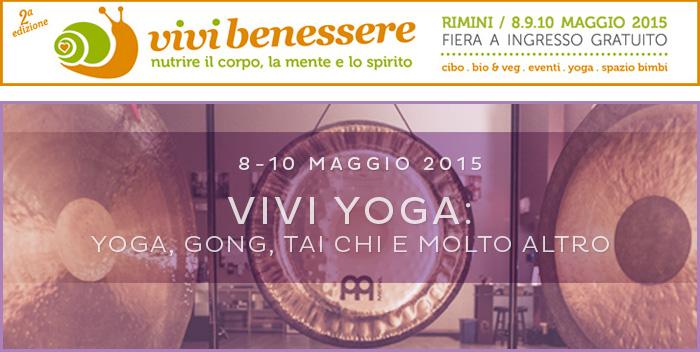 Vivi Yoga: lo yoga a Vivi Benessere dall'8 al 10 maggio – Rimini