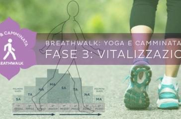 """Programma di Breathwalk """"l'Aquila Felice"""": la vitalizzazione"""