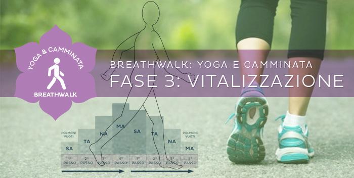 Breathwalk – Fase 3: Vitalizzazione