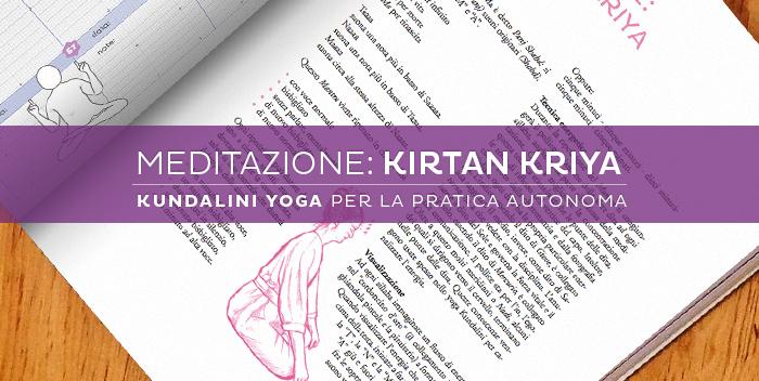 Meditazione Kirtan Kriya