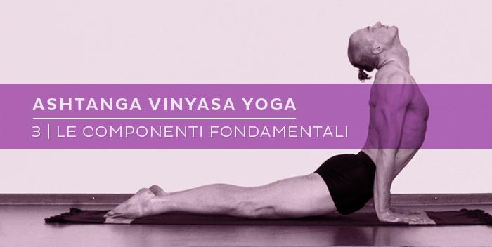 Ashtanga Vinyasa Yoga: le componenti fondamentali