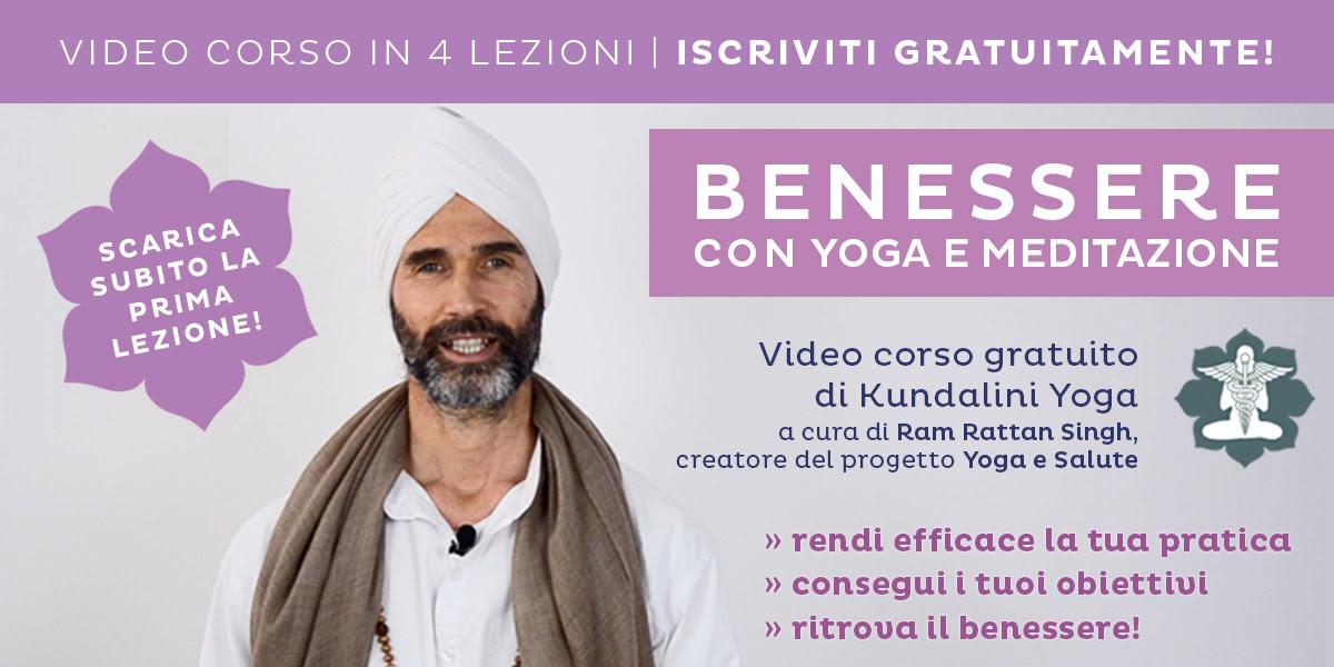 Benessere con Yoga e Meditazione: un video corso gratuito