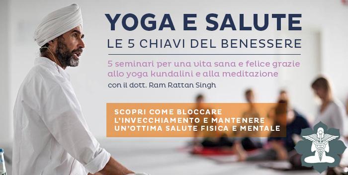 6 Marzo: parte il seminario Yoga e Salute – Le Cinque Chiavi del Benessere