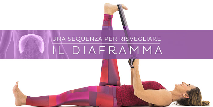Risvegliare il diaframma con lo yoga