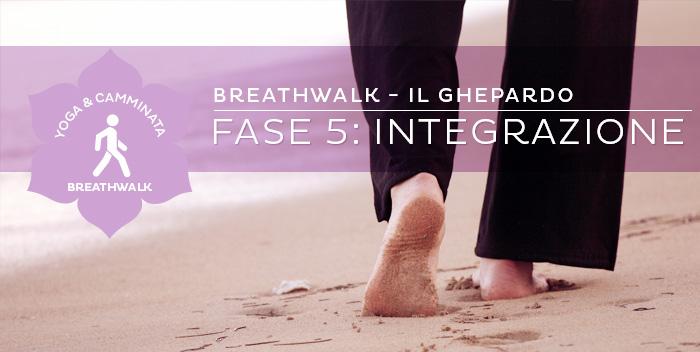 Breathwalk: il Ghepardo – Fase 5: Integrazione