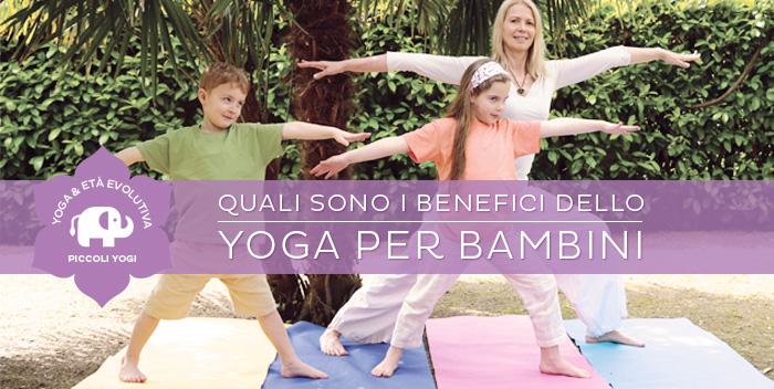Lo yoga per bambini: 10 buoni motivi per fare yoga con i tuoi bimbi