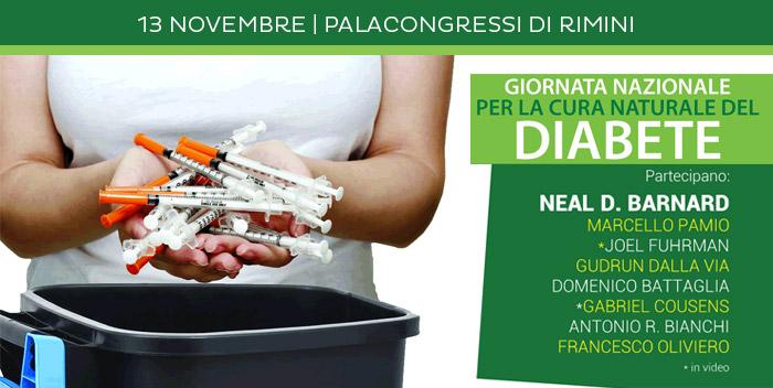 13 novembre: Giornata Nazionale per la Cura Naturale del Diabete