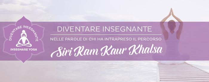 Diventare Insegnante: Siri Ram Kaur Khalsa