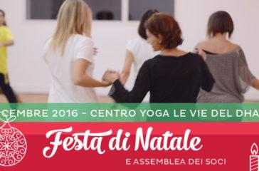 Festa di Natale al Centro Yoga Le Vie del Dharma