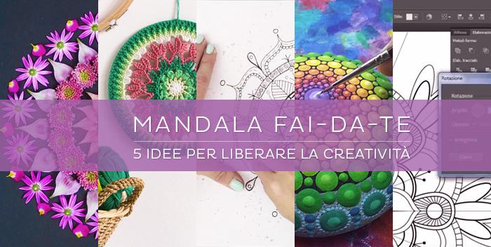 5 idee per creare con i mandala