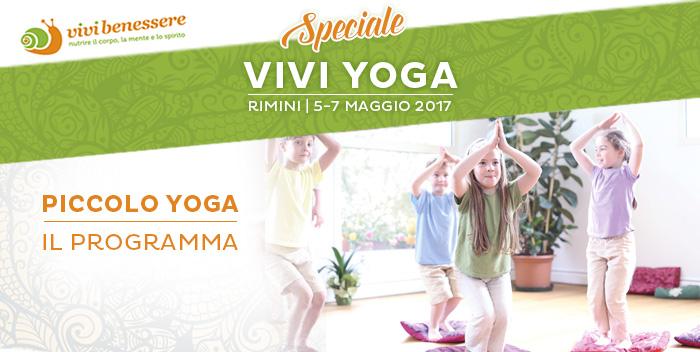 Il programma di Vivi Yoga: lo yoga per i bambini!