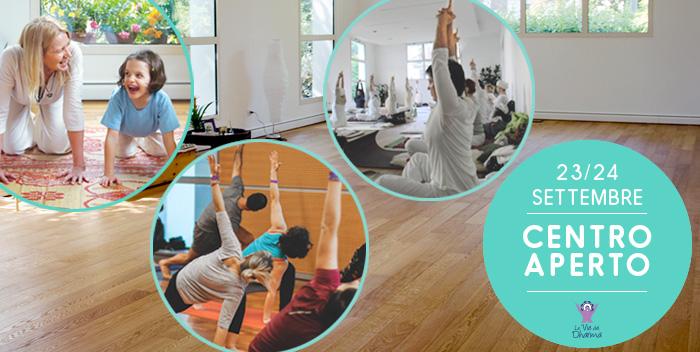 23/24 settembre: free class e lezioni di prova al Centro Yoga Le Vie del Dharma