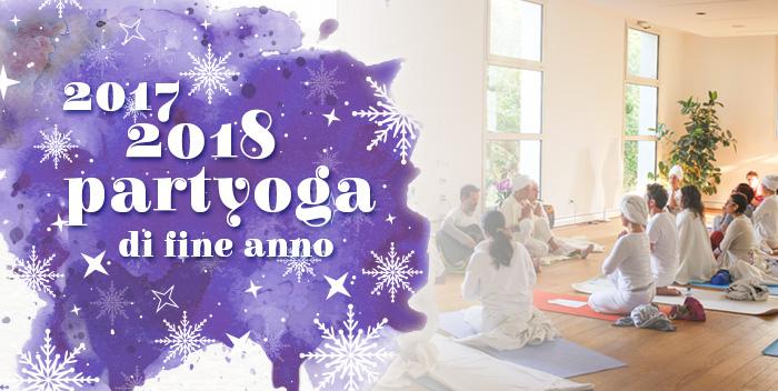"""""""Partyoga"""" di fine anno al Centro Le Vie del Dharma!"""