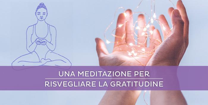 Una meditazione per la gratitudine e la prosperità