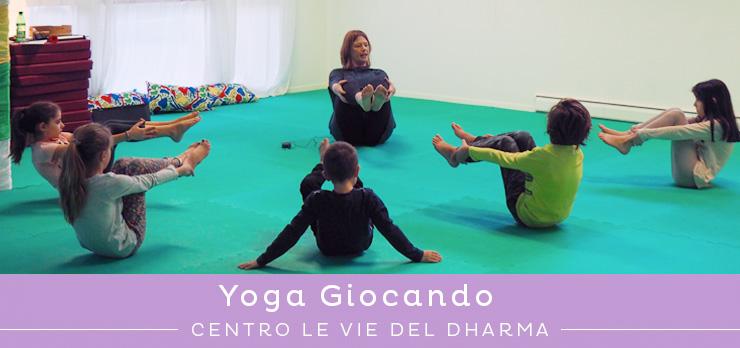 Novità: iniziano le lezioni di Yoga Giocando