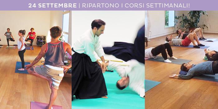 24 settembre: iniziano i corsi al Centro Yoga!