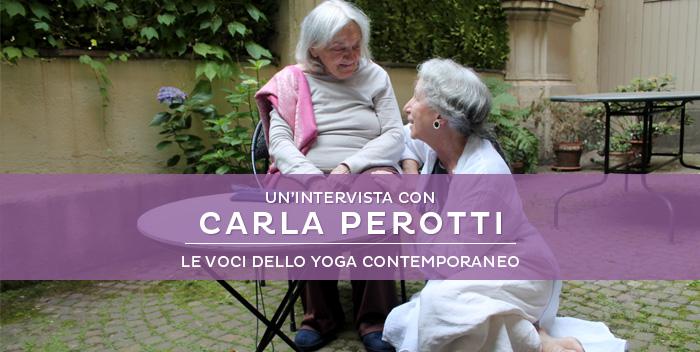 """""""Ai piedi della Maestra"""": intervista a Carla Perotti"""