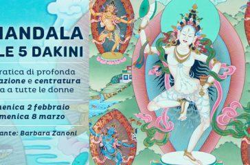 Il Mandala delle 5 Dakini: seminario