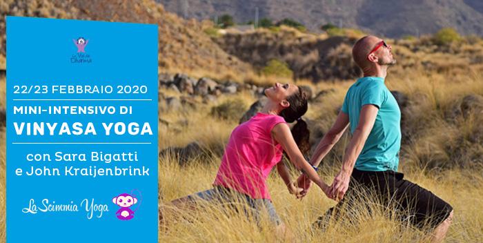 22/23 febbraio: mini intensivo di Vinyasa Yoga con Sara Bigatti