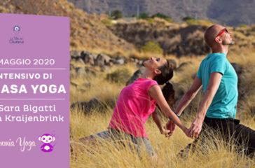 Mini intensivo di vinyasa yoga con Sara Bigatti - La Scimmia Yoga - maggio 2020 a Cesena