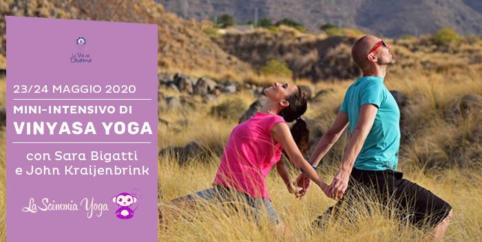 23-24 maggio: mini intensivo di Vinyasa Yoga con Sara Bigatti