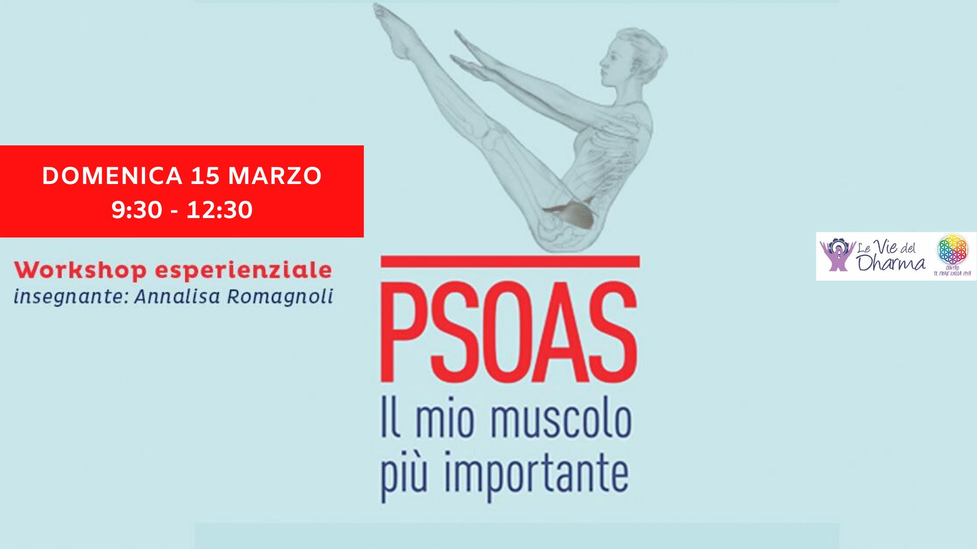 Workshop – Psoas: il mio muscolo più importante